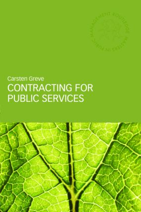 Contracting for Public Services (Paperback) book cover