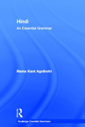 Hindi: An Essential Grammar book cover