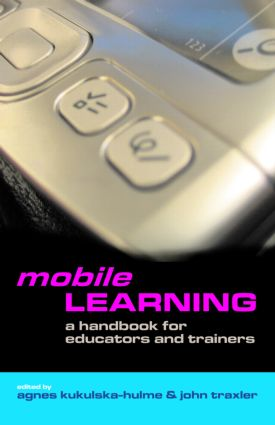 Mobile Learning: A Handbook for Educators and Trainers (Paperback) book cover