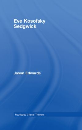 Eve Kosofsky Sedgwick book cover