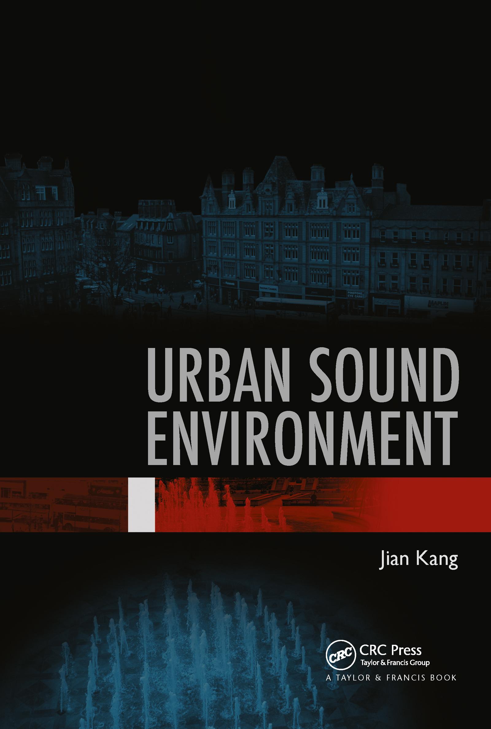 Urban Sound Environment (Hardback) book cover