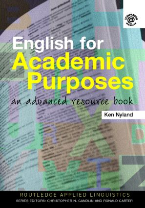 English for Academic Purposes: An Advanced Resource Book (Paperback) book cover