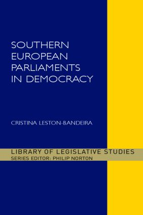 Southern European Parliaments in Democracy (Hardback) book cover