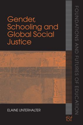 Gender, Schooling and Global Social Justice (Paperback) book cover