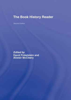 The Book History Reader: 2nd Edition (Hardback) book cover