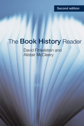 The Book History Reader: 2nd Edition (Paperback) book cover