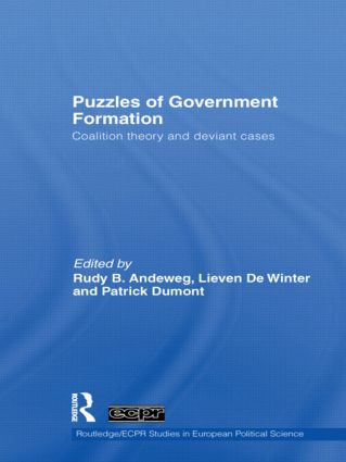 Puzzles of Government Formation: Coalition Theory and Deviant Cases book cover
