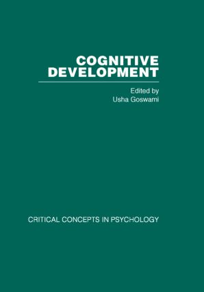 Cognitive Development: Critical Concepts in Psychology (Hardback) book cover