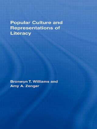Popular Culture and Representations of Literacy: 1st Edition (Hardback) book cover