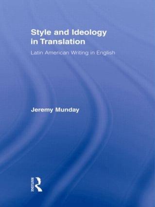 Style and Ideology in Translation: Latin American Writing in English (e-Book) book cover