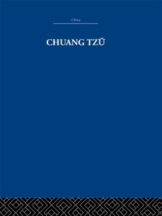 Chuang Tzu: 1st Edition (Hardback) book cover