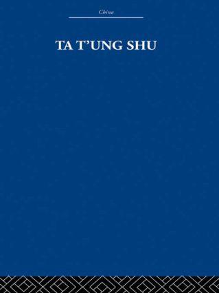 Ta t'ung Shu