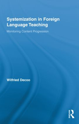 Systemization in Foreign Language Teaching: Monitoring Content Progression (Hardback) book cover