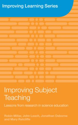 Improving Subject Teaching: Lessons from Research in Science Education (Paperback) book cover