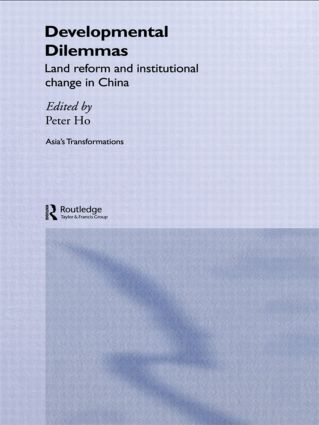 Developmental Dilemmas: Land Reform and Institutional Change in China book cover