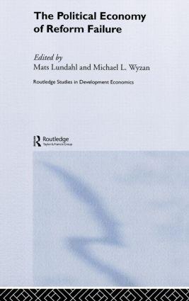 The Political Economy of Reform Failure (Hardback) book cover