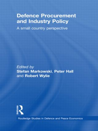 Defence Procurement and Industry Policy: A small country perspective book cover