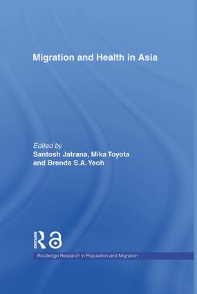 Migration and Health in Asia (Hardback) book cover