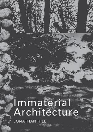 Immaterial Architecture (Paperback) book cover