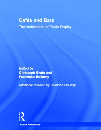 Cafes and Bars: The Architecture of Public Display book cover