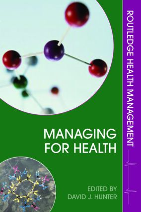 Information needs for managing for health