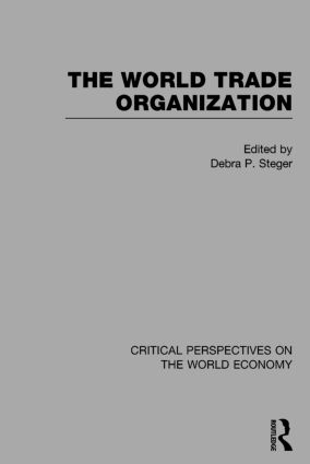 The World Trade Organization book cover