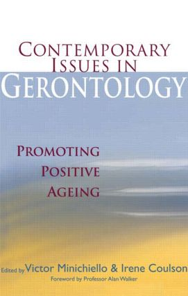 Contemporary Issues in Gerontology: Promoting Positive Ageing, 1st Edition (Paperback) book cover