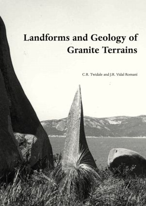 Landforms and Geology of Granite Terrains: 1st Edition (Hardback) book cover