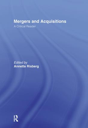 Corporate Acquisitions: A Process Perspective