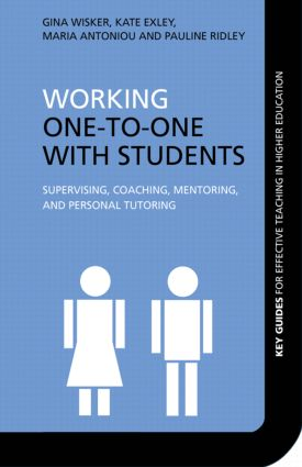 Working One-to-One with Students: Supervising, Coaching, Mentoring, and Personal Tutoring (Paperback) book cover