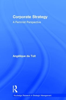 Corporate Strategy: A Feminist Perspective (Hardback) book cover