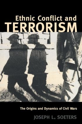 Ethnic Conflict and Terrorism: The Origins and Dynamics of Civil Wars (Paperback) book cover