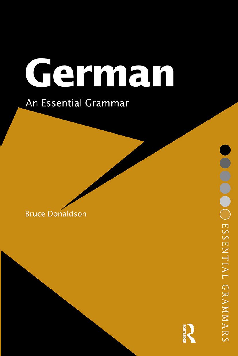 German: An Essential Grammar book cover