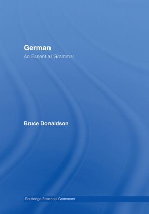 German: An Essential Grammar book cover