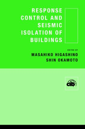 Response Control and Seismic Isolation of Buildings (Hardback) book cover