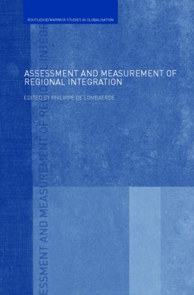 Assessment and Measurement of Regional Integration book cover