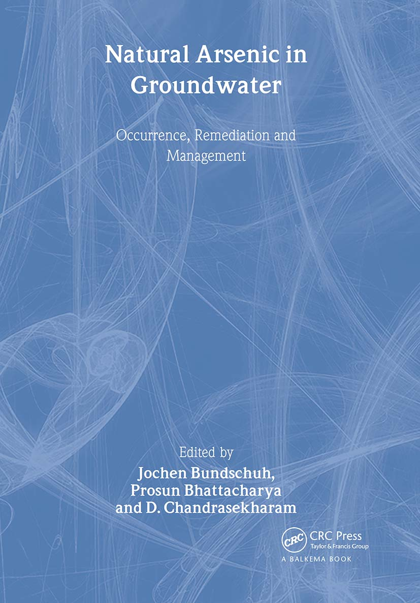 Natural Arsenic in Groundwater: Proceedings of the Pre-Congress Workshop