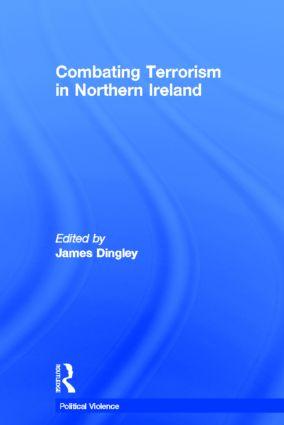 Combating Terrorism in Northern Ireland (Hardback) book cover
