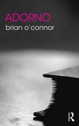 Adorno book cover