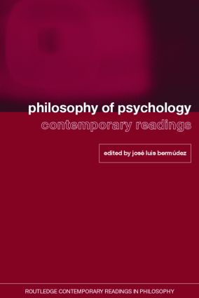 Philosophy of Psychology: Contemporary Readings (Paperback) book cover
