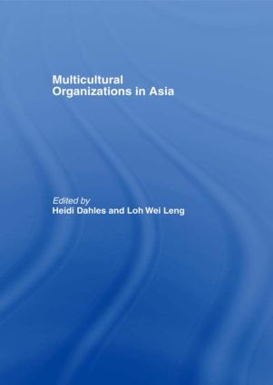 Multicultural Organizations in Asia: 1st Edition (Paperback) book cover