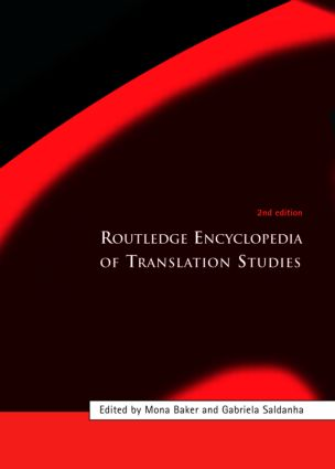 Routledge Encyclopedia of Translation Studies: 2nd Edition (Hardback) book cover