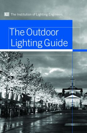 Outdoor Lighting Guide (Hardback) book cover