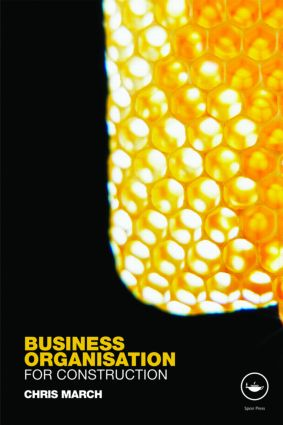 Business Organisation for Construction: 1st Edition (Paperback) book cover