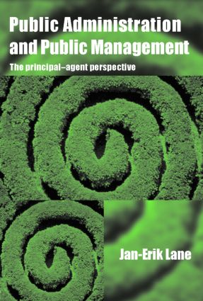 Public Administration & Public Management: The Principal-Agent Perspective (Paperback) book cover