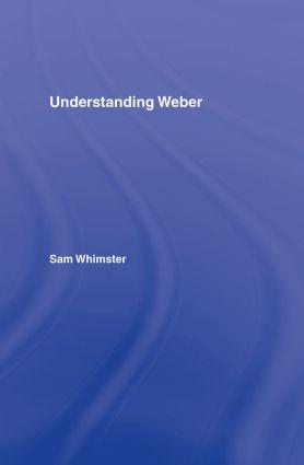 Weber before Weberian sociology, revisited