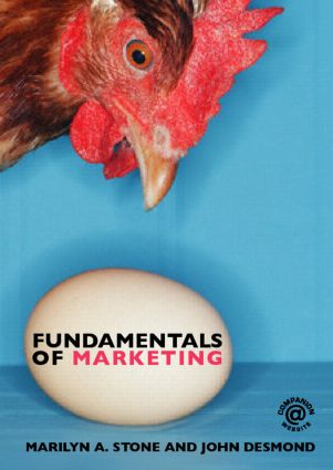 Fundamentals of Marketing: 1st Edition (Paperback) book cover