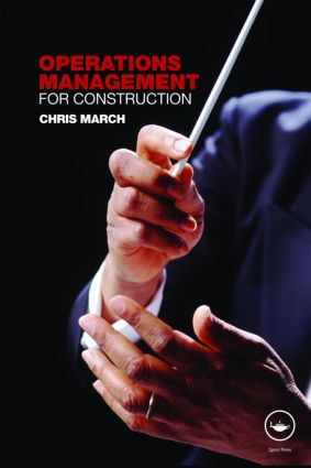 Operations Management for Construction book cover