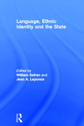 Language, Ethnic Identity and the State (Hardback) book cover