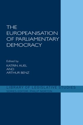 The Europeanisation of Parliamentary Democracy (Hardback) book cover